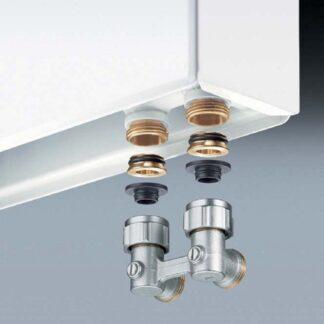 Радиаторные клапаны и узлы подключения