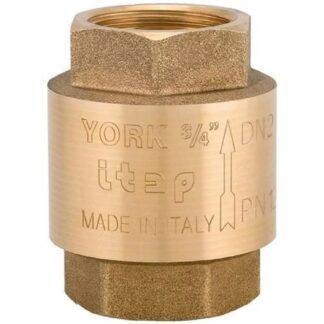 Обратный клапан пружинный York 103, Ду15 Itap
