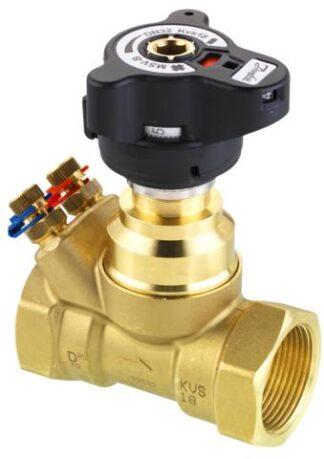 Ручной балансировочный клапан Danfoss MVT Ду20 с внутренней ...