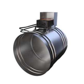ФКС-Ø100-1М-BLE(230)-НЗ канальный клапан с электроприводом